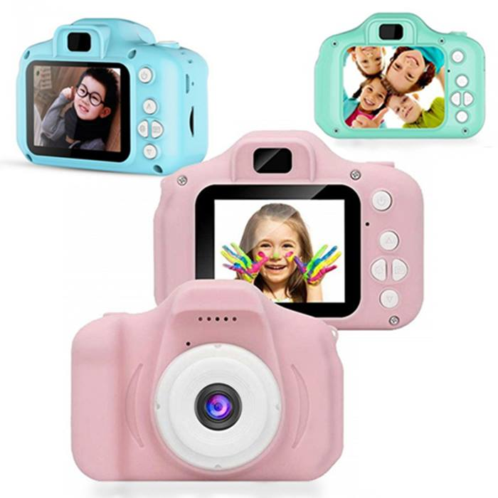 Mini Digital Kids' Camera With Optional 32GB or 64GB SD Card