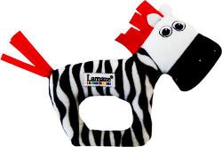 Lamaze Contrast Zebra Rattle Toy