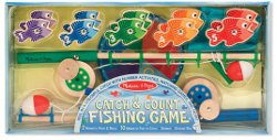Melissa & doug Catch and Count Fishing Game 250