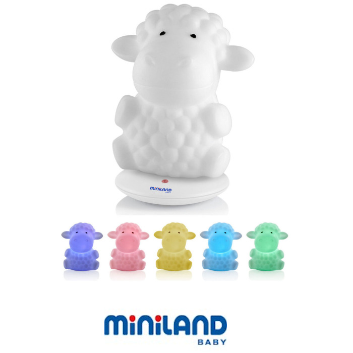 Miniland Night Sheep Colourful  Nightlight