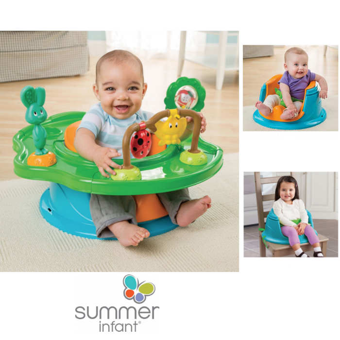 Summer Infant 3 in 1 SuperSeat - Forest Friends