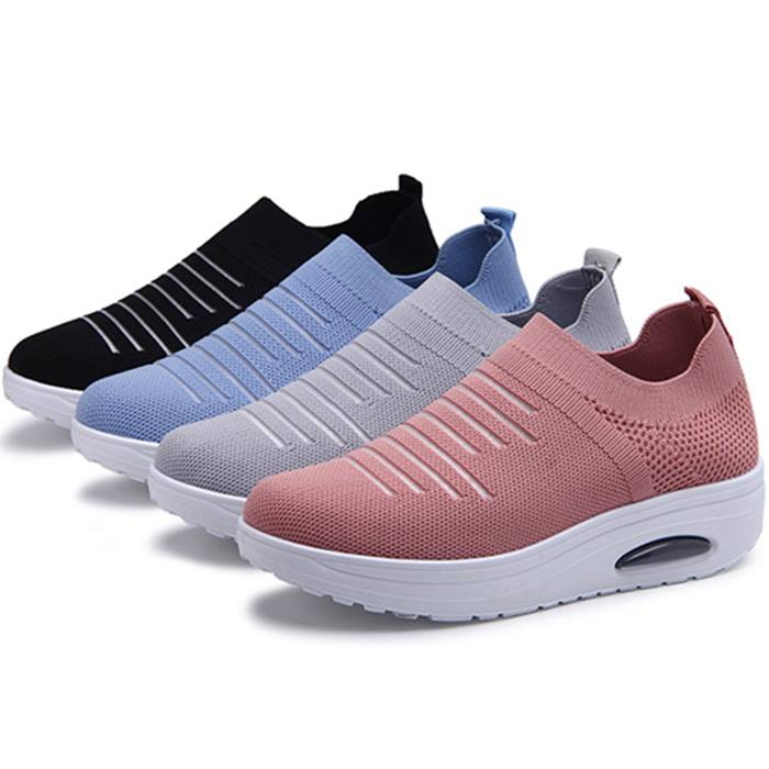 Women's Breathable Mesh Sneakers - 5 Sizes & 4 Colours
