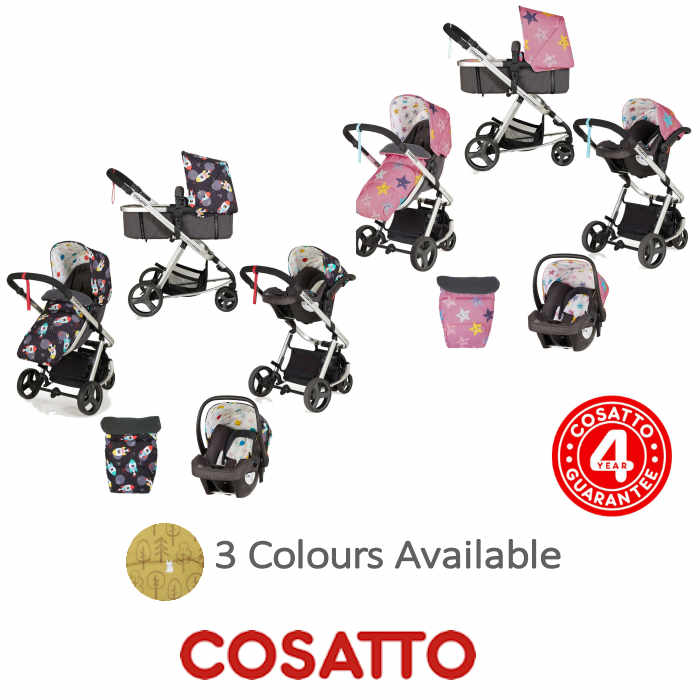 Cosatto Giggle Mix Pramette Travel System