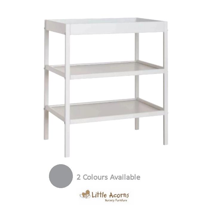 Little Acorns Changing Unit - White
