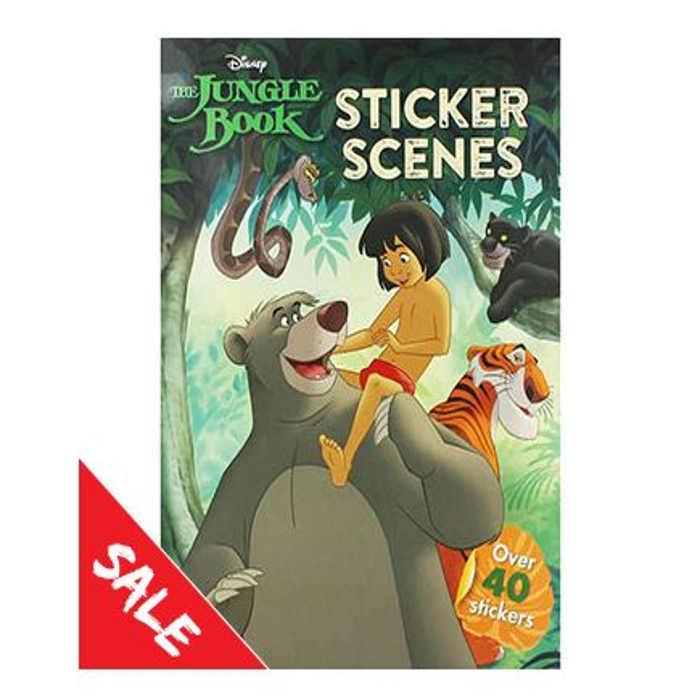 The Works - Jungle Book Sticker Book