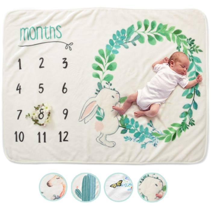Baby Milestone Blanket - 4 Styles