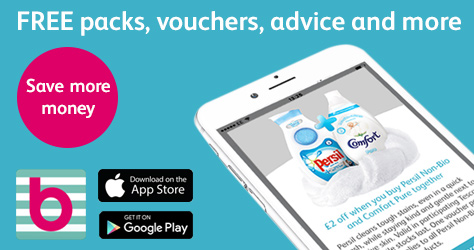 Packs and vouchers on the app