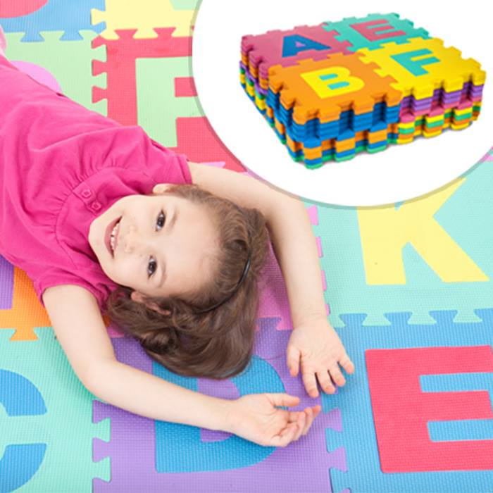 36pc Foam Alphabet & Number Puzzle Play Mat