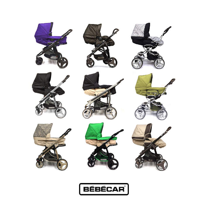 Bebecar  2 in1-3 in1 Pram - Pushchair 2