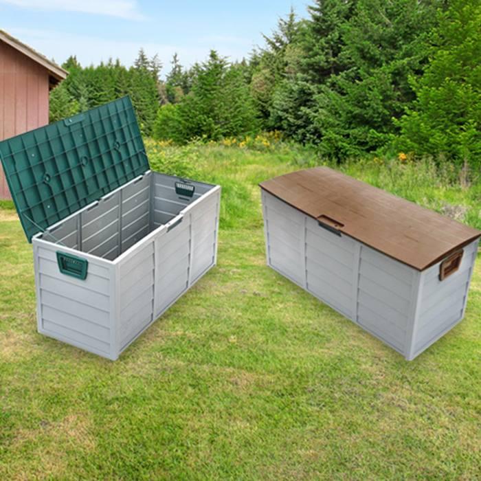 XXL 290L Weatherproof Garden Storage Box