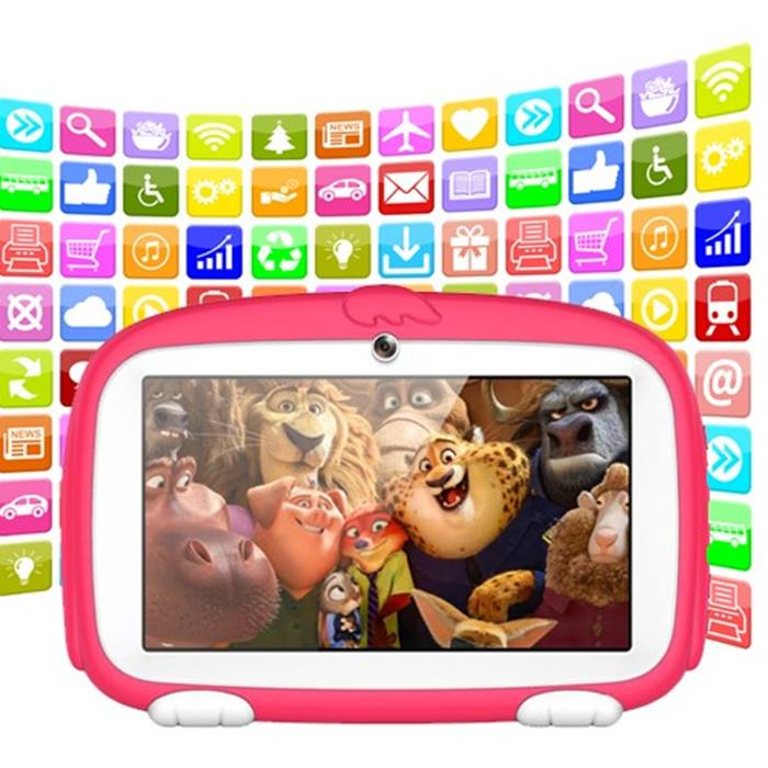 512MB or 1GB iPuppy 7-Inch Interactive Kid's Tablet - 4 Colours!