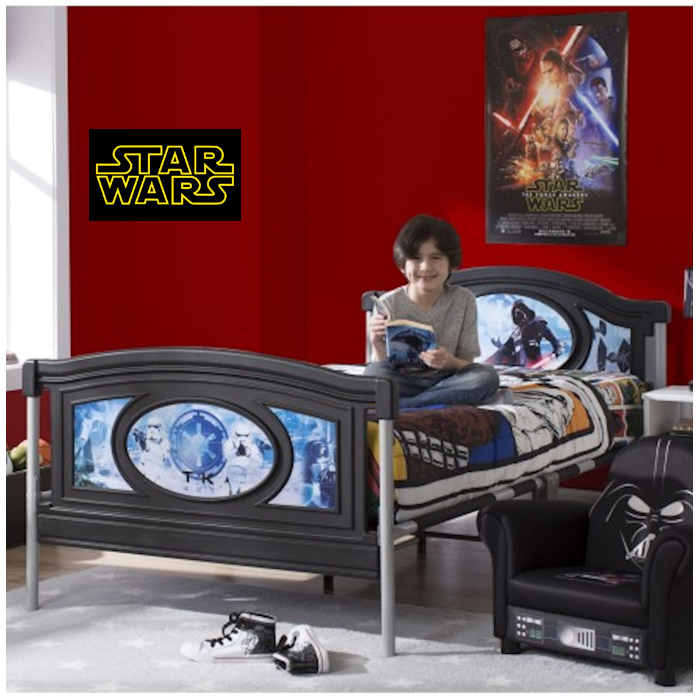 Delta Children Twin - Single Bed - Star Wars