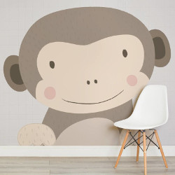 Murals Wallpaper Maurice the monkey wall mural