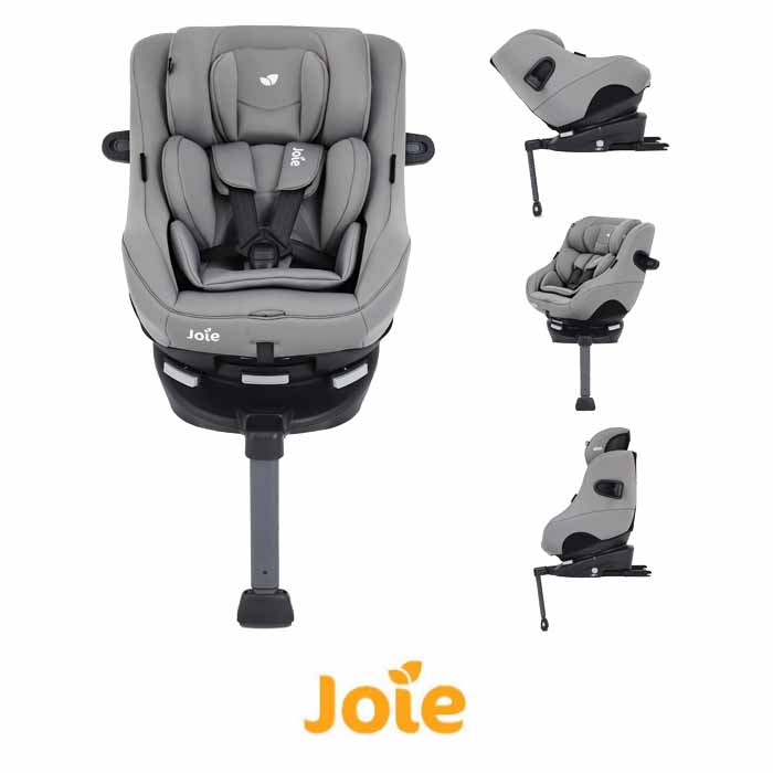 Joie Spin 360 GT Luxury Group 01 ISOFIX Car Seat Grey Flannel