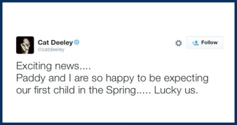 Cat Deeley Pregnant