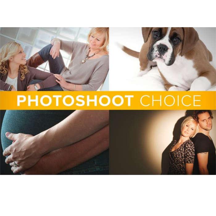 Photoshoot choice