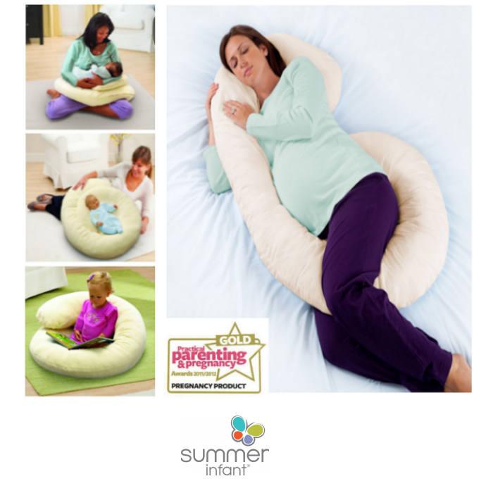 Summer Infant  4 In 1 Large Nursing & Pregnancy Pillow