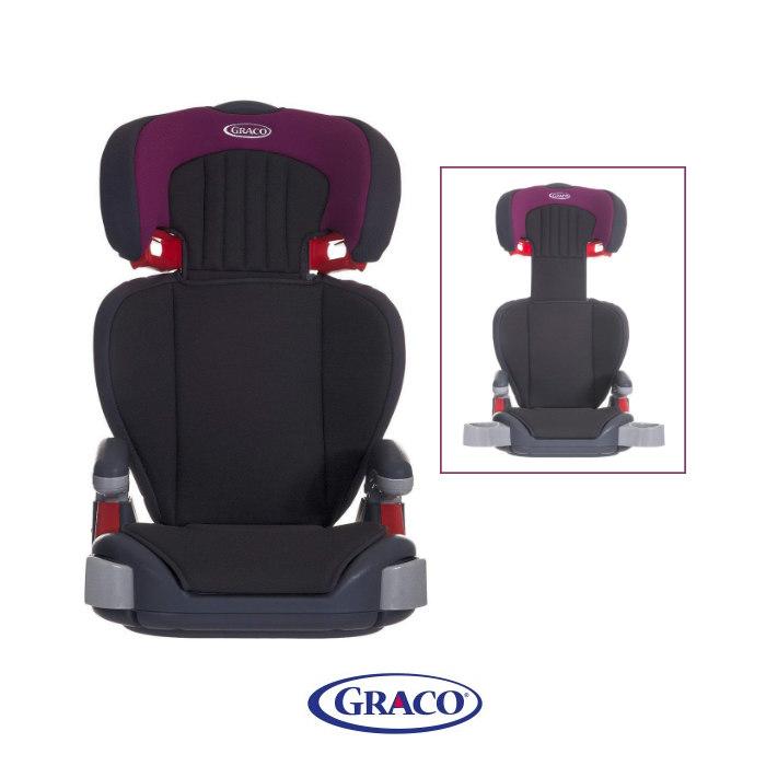 Graco Junior Maxi Group 2-3 Booster Car Seat - Royal Plum