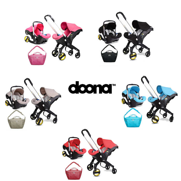 Doona Infant Car Seat  Stroller With Changing Bag all