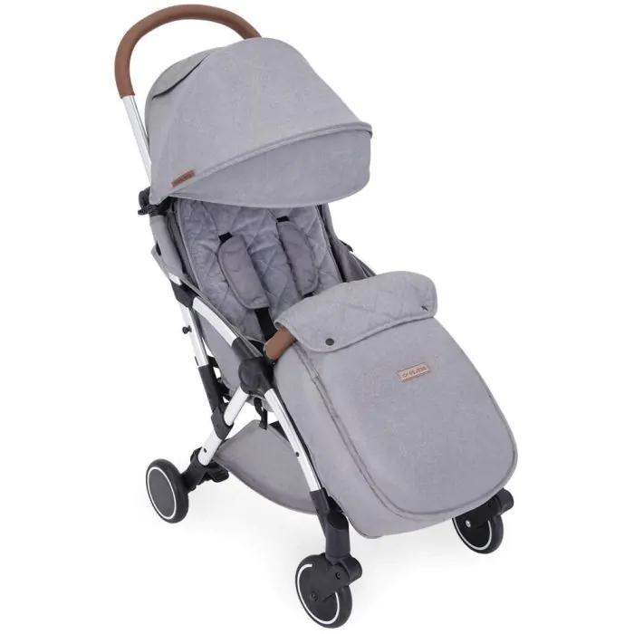 Ickle Bubba Globe Max Stroller - Silver/Grey