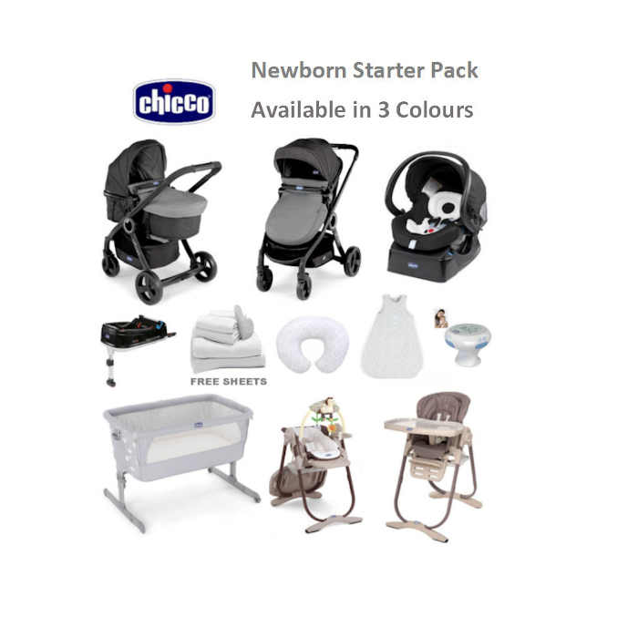 chicco newborn bundle cocoa - circles