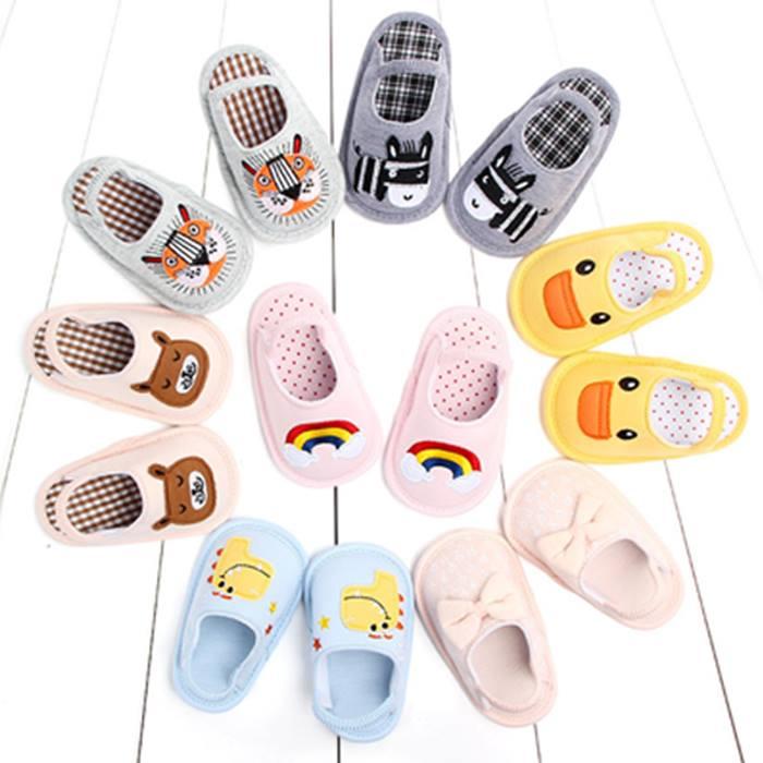 Newborn Anti-Slip Indoor Shoes - 7 Designs & 3 Sizes