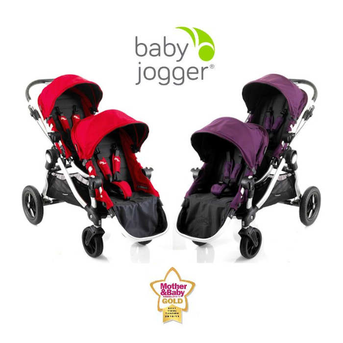 Baby Jogger City Select Tandem Stroller