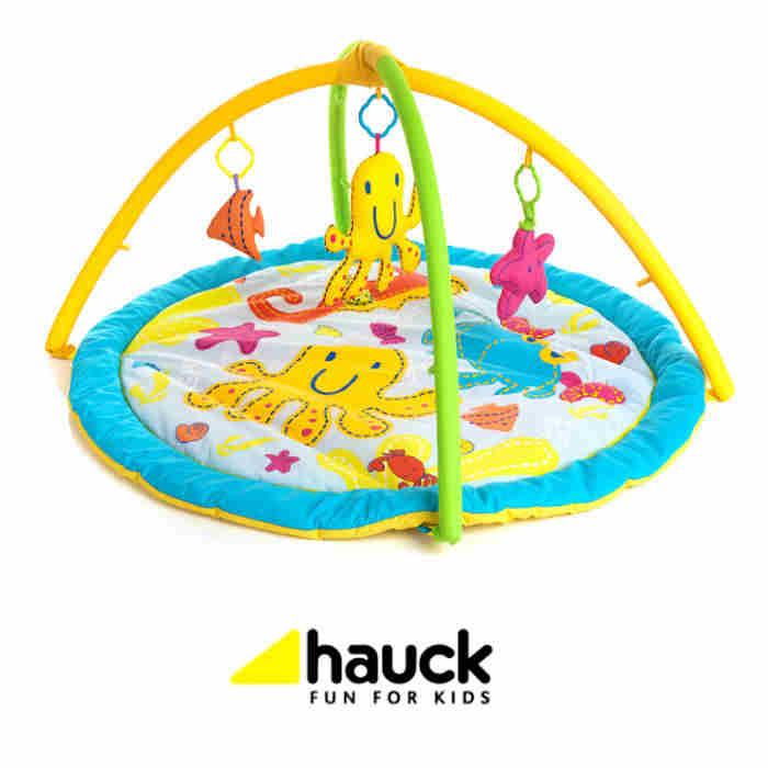 Hauck 2 in 1 Activity Center Round Play Mat - Seaworld