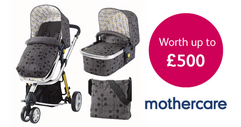 Win a Mothercare pram with the Bounty app