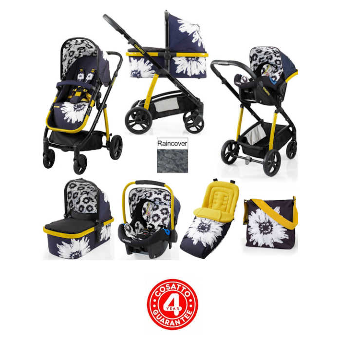 Cosatto Wow 3 in 1 Combi Travel System With Accessories  Sunburst