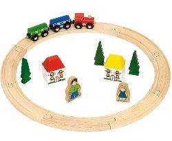 Bigjigs wooden train track 250