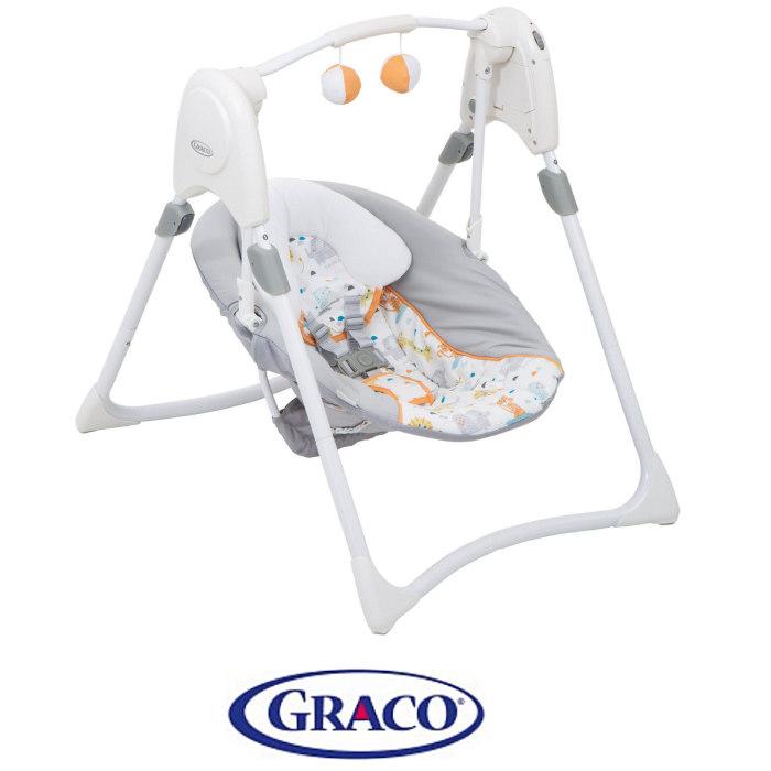 Graco Slim Spaces 2in1 Swing - Linus