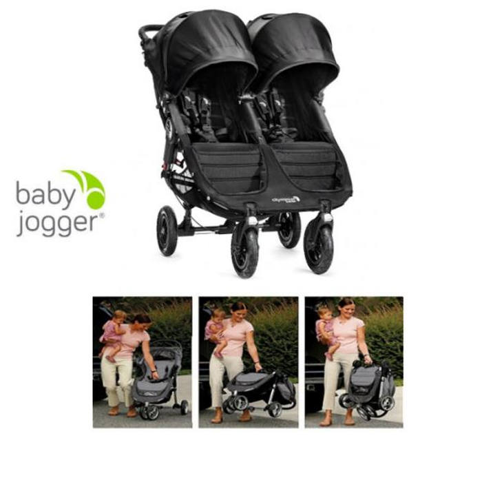 New Baby Jogger City Mini GT Double Stroller