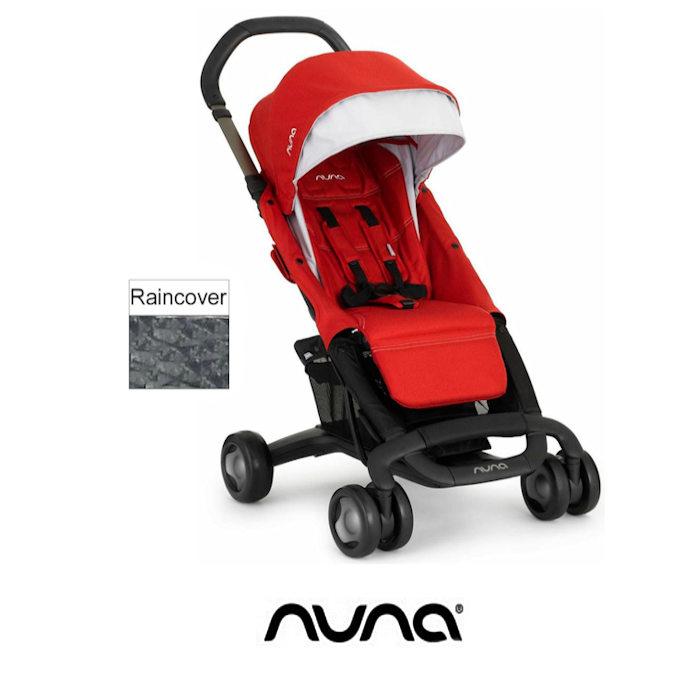 Nuna Pepp Luxx Pushchair - Scarlet