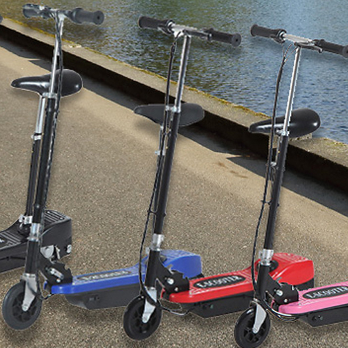 120W Electric Foldable Scooter with Twist Grip Accelerator - 4 Colours