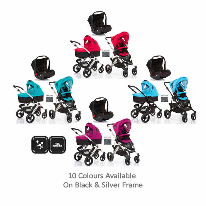 ABC Design Mamba 3 in 1 Travel System  Carrycot
