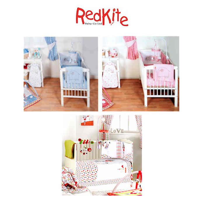 Red Kite 4 Piece Cosi Cot-Cot Bed Bedding Set
