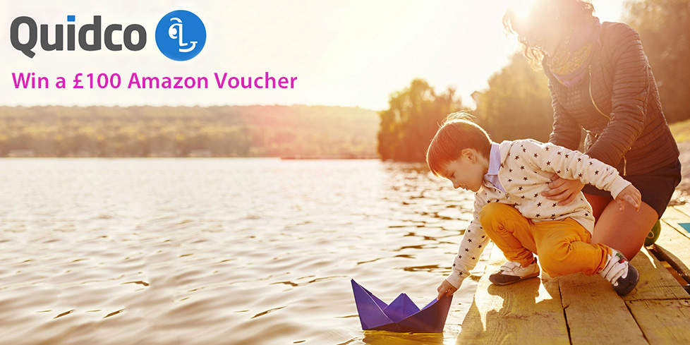 Win a £100 Amazon Voucher with Quidco