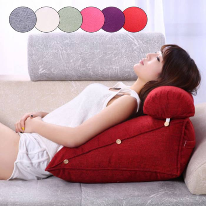 Adjustable Back Support Cushion - 6 Colours