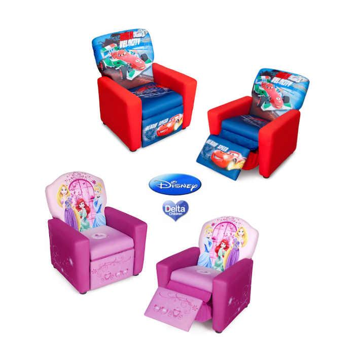 Delta Children Upholstered Recliner Chair - Disney