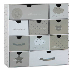 Maison Du Monde OURSON newborn gift set with drawers
