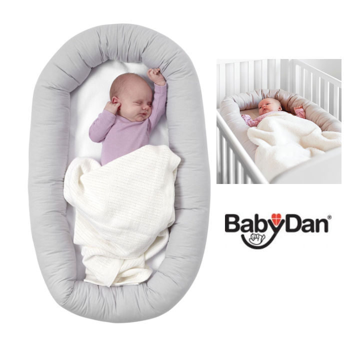 Babydan Portable Cuddle Nest - Grey