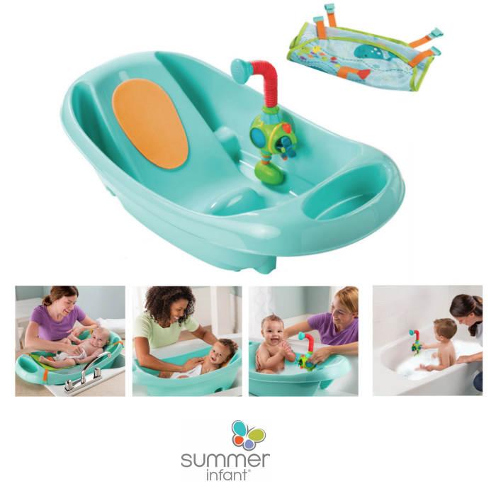 Summer Infant My Fun Tub Baby Bath With Sprayer