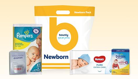 Newborn Bounty giftpack