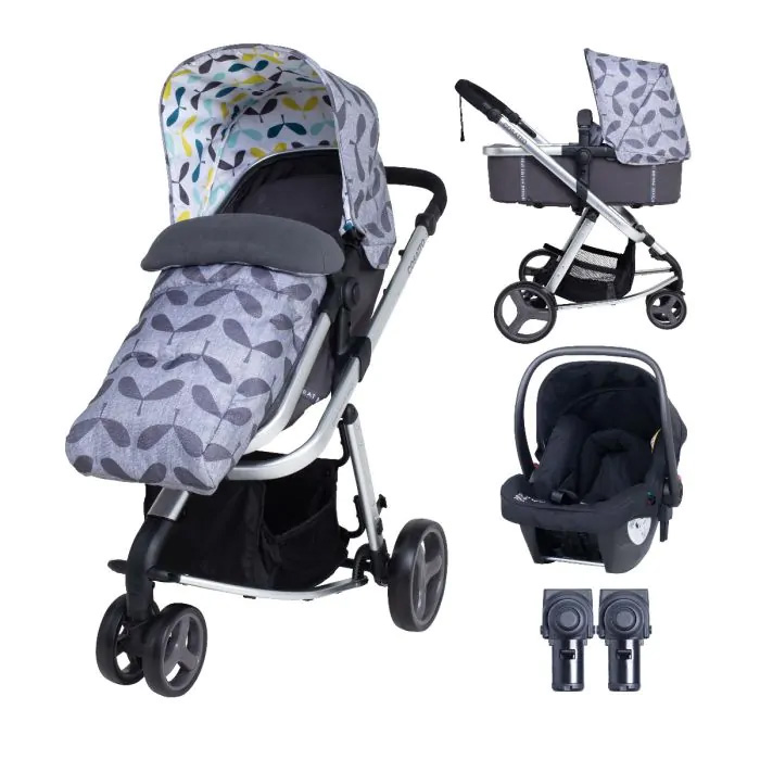 Cosatto Giggle Mix Pushchair and Car Seat - Seedling