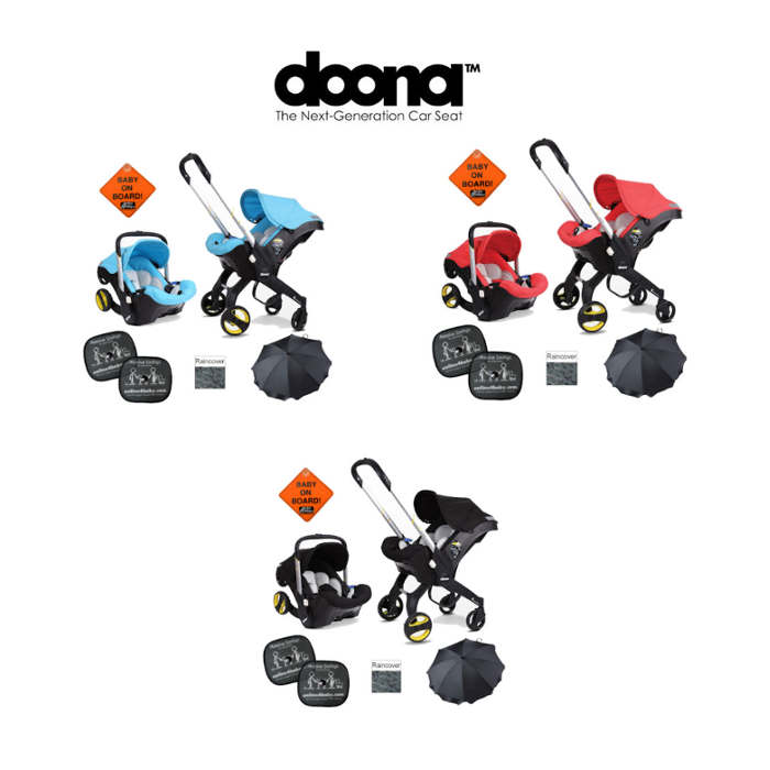Doona Infant Car Seat  Stroller - Love