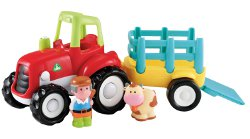 Happyland Lights and Sounds Farm Tractor 250