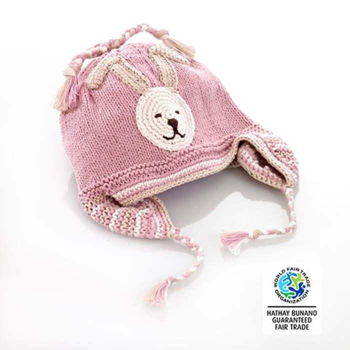 pebble pink hat