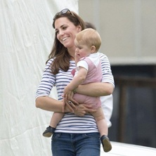 Kate and Prince George