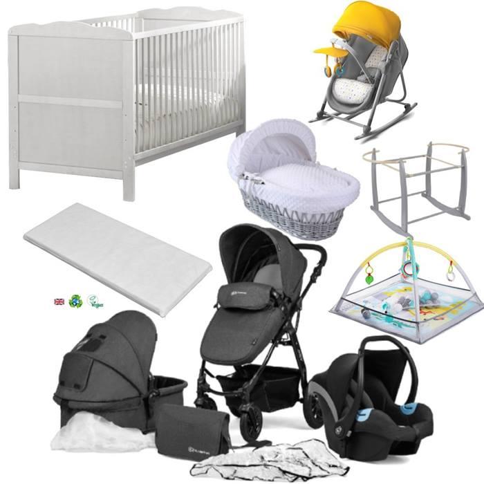 Kinderkraft Moov Cot Bed Bundle